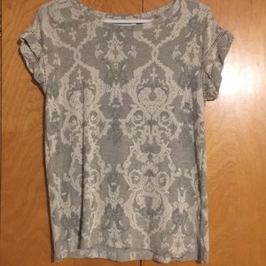 Rose + Olive tee. Women's size small
